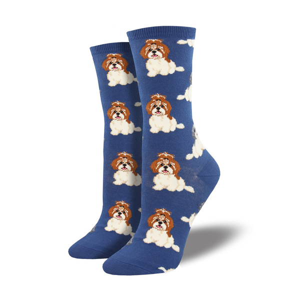 Socksmith Socks Womens I Shih Tzu Not