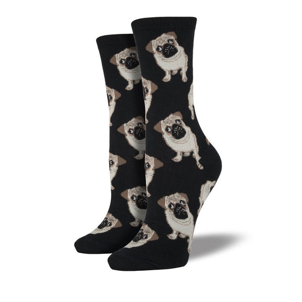 Socksmith Socks Womens Pugs