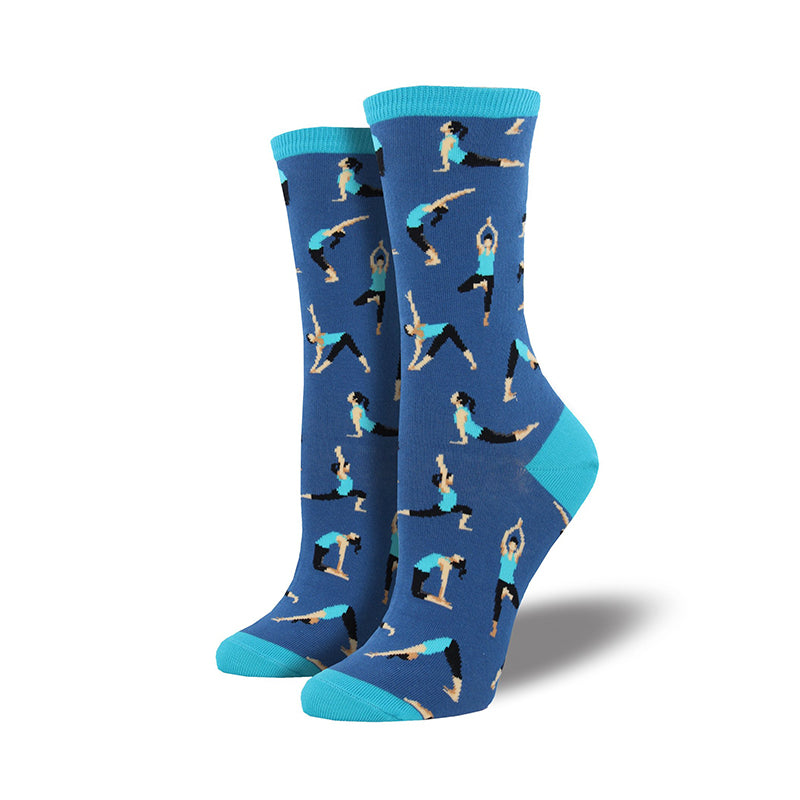 Socksmith Socks Womens Yoga People