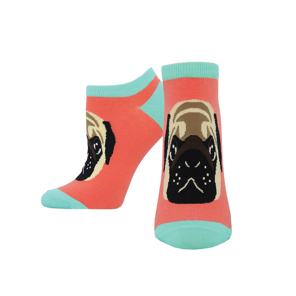 Socksmith Socks Womens Pug Lyfe Peds