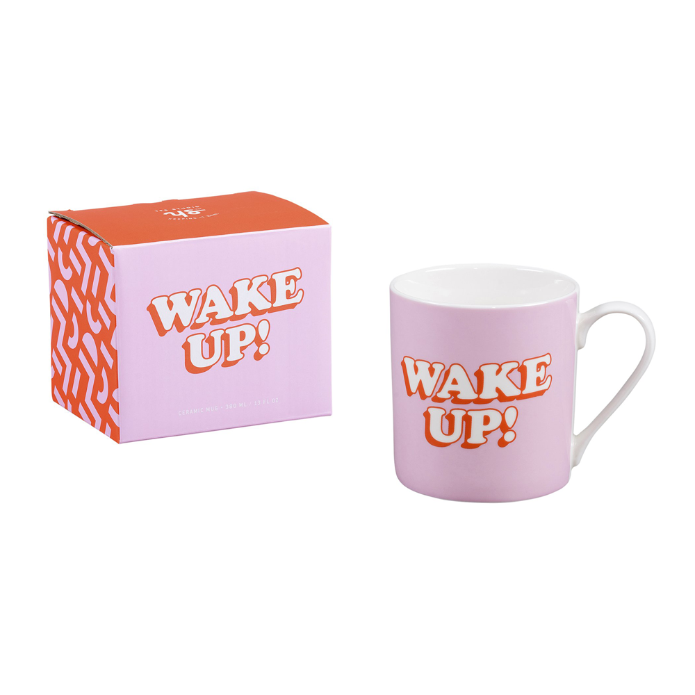Yes Studio Ceramic Mug Wake Up