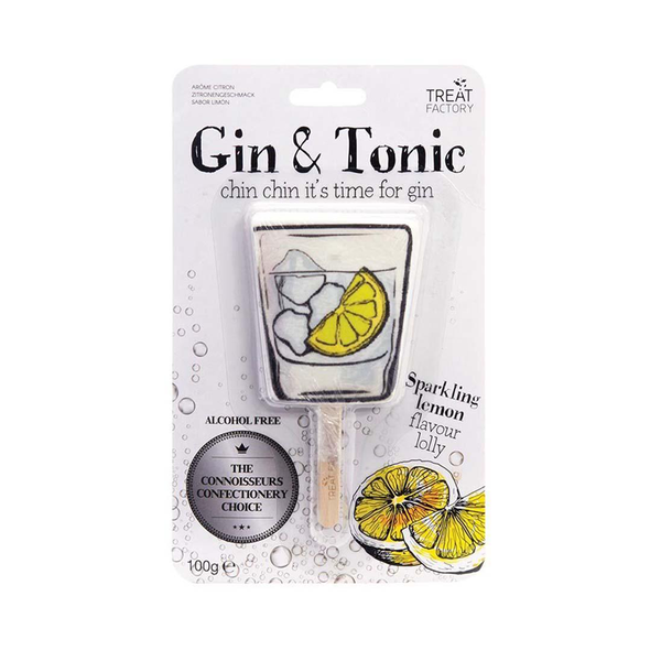 Gin and Tonic Lollipop