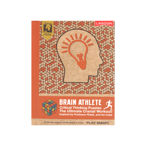 Brain Athlete Critical Thinking Puzzle Book