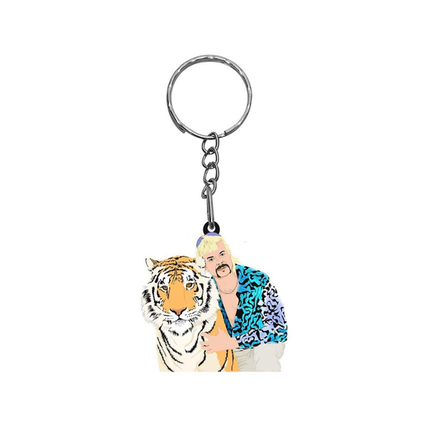 Pro & Hop Key Ring Tiger King