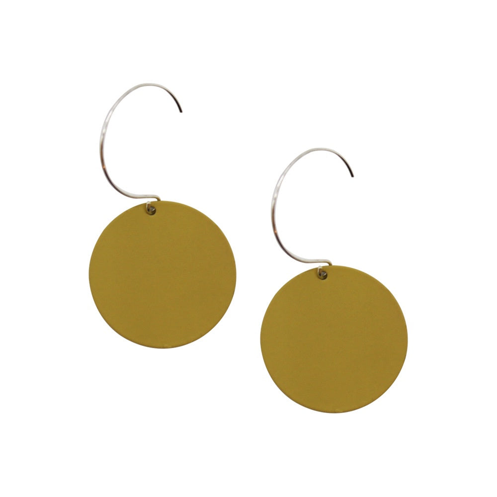 Penny Foggo Earrings Small Spot Olive