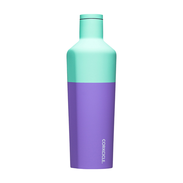 Corkcicle Colour Block Drink Bottle 25oz 750ml Mint Berry