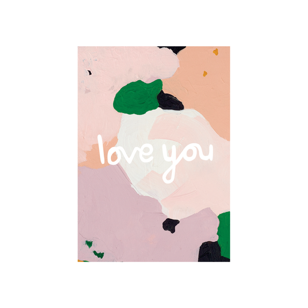 Alice Berry X Iko Iko Card Love You Floral