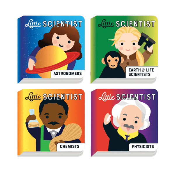Mudpuppy Little Scientist Board Book Set of 4