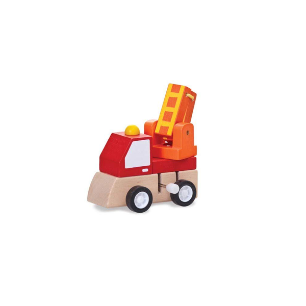 Wooden Wind Up Truck