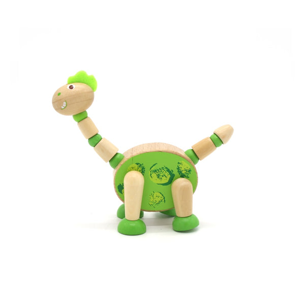 Wooden Flexi Dinosaur Assorted