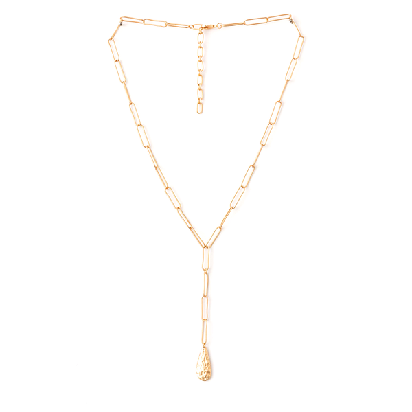 Stella + Gemma Necklace Chain Teardrop Gold