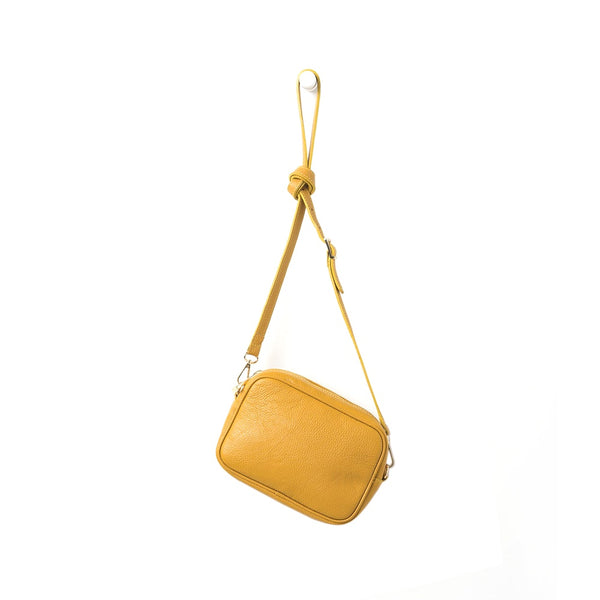 Citta Dixon Leather Handbag Mustard