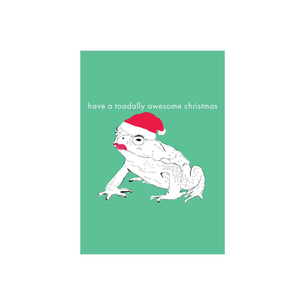 Iko Iko Christmas Card Toadallly Awesome