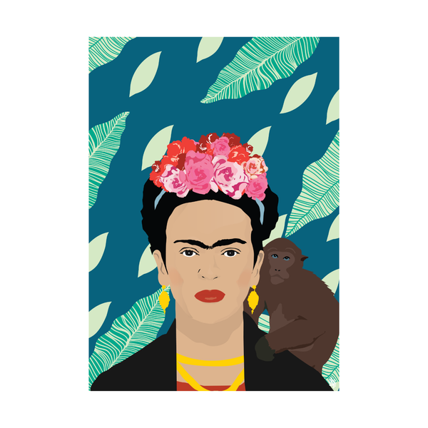 Iko Iko Pop Culture Poster Frida