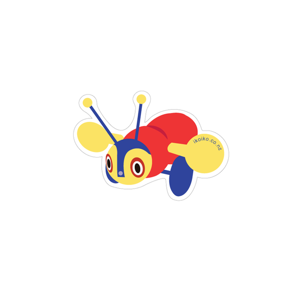 Iko Iko Fun Size Sticker Buzzy Bee