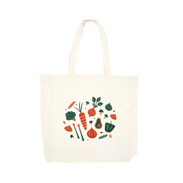 Iko Iko Simple Tote Talula Veggies