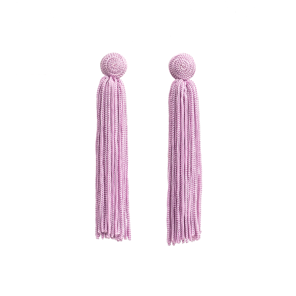 Stella + Gemma Earrings Harper Lilac
