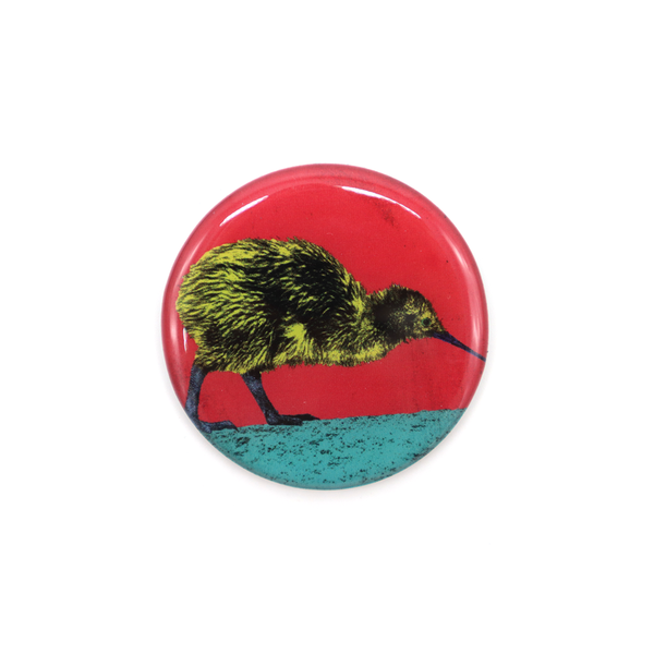 New Zealand Pop Art Magnet Kiwi