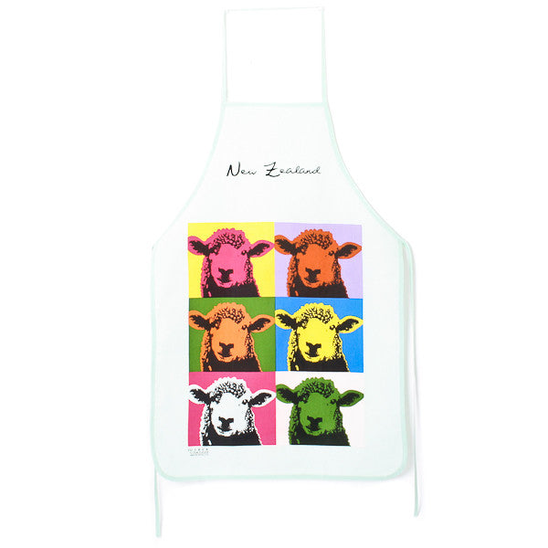 Pop Art Sheep Apron