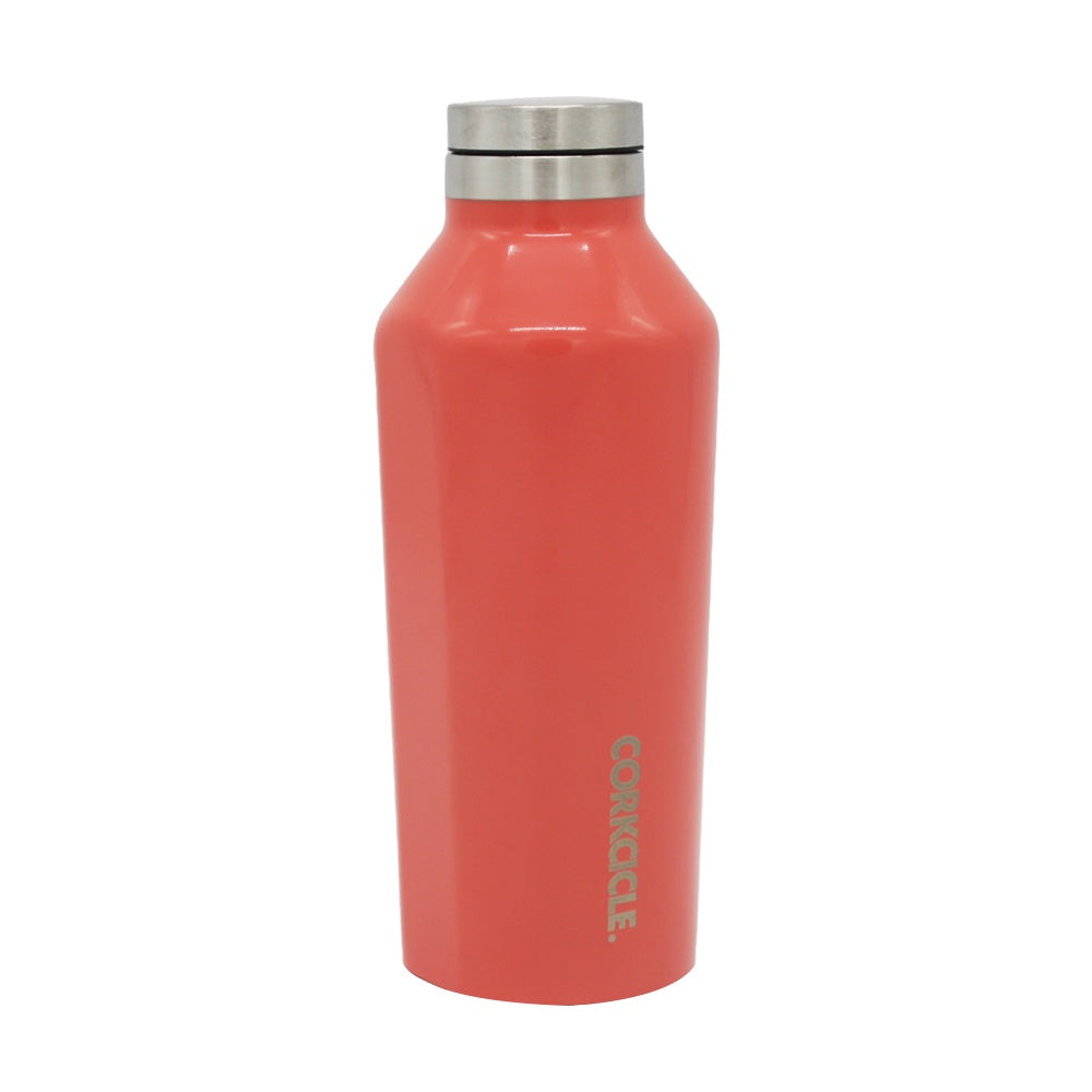 Corkcicle Canteen Drink Bottle 9oz Coral