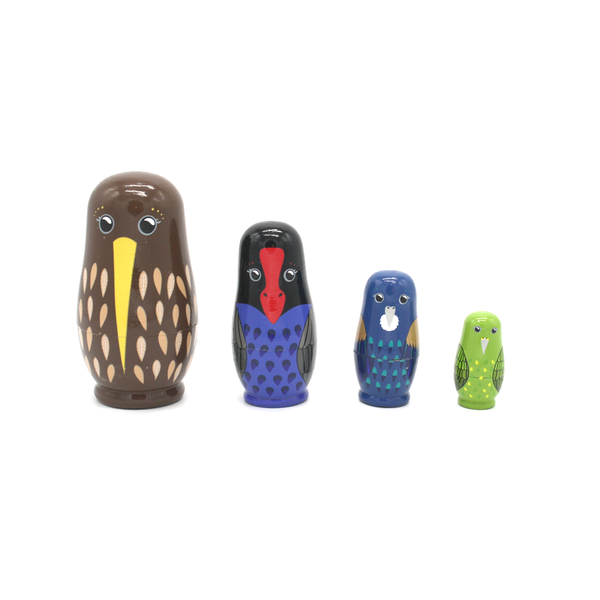 New Zealand Nesting Doll Birds
