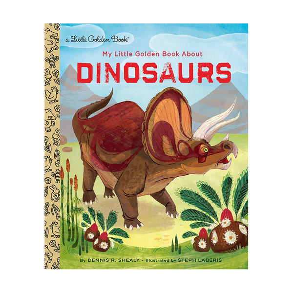 Little Golden Book About Dinosaurs