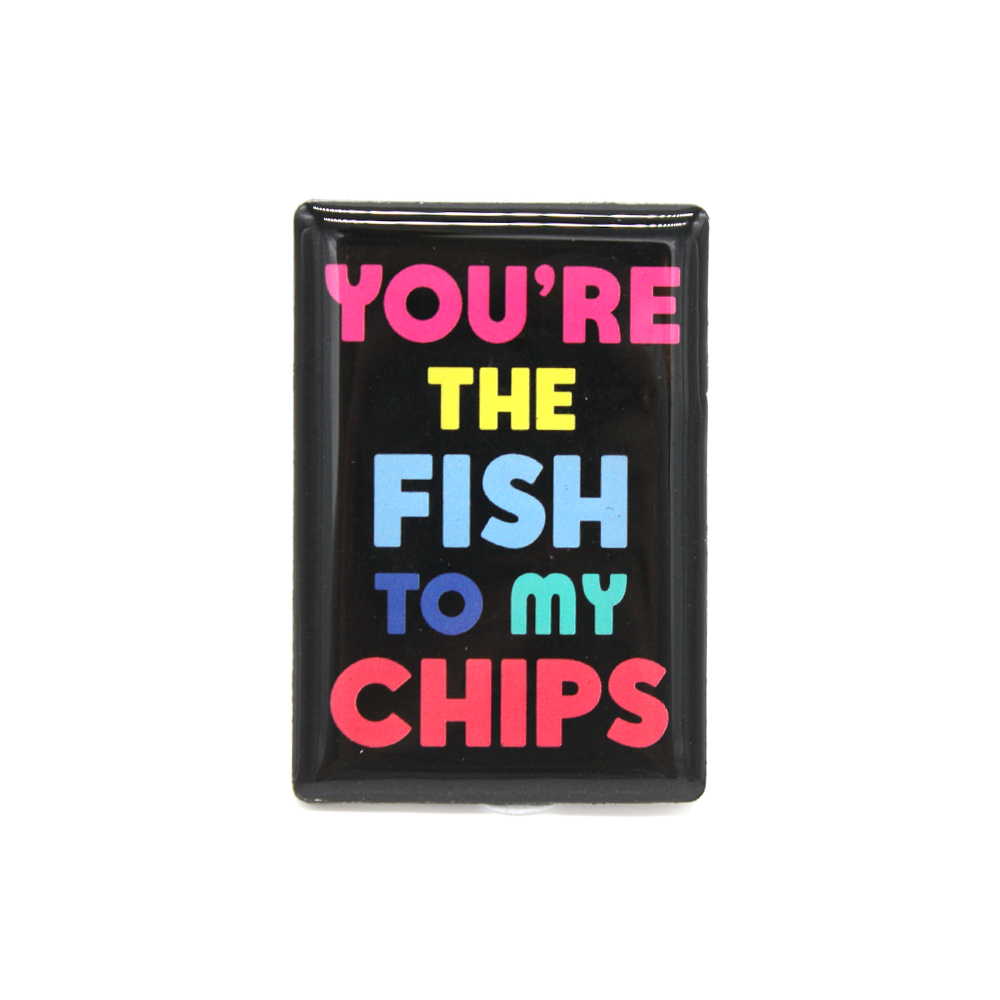 New Zealand Pop Art Magnet Fish & Chips