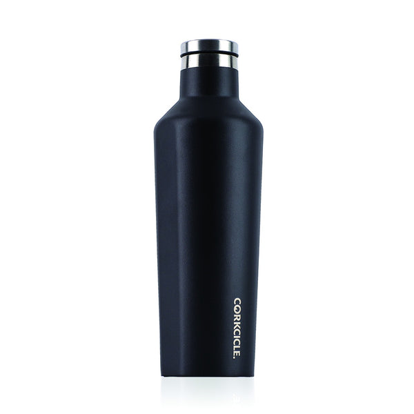 Corkcicle Canteen Drink Bottle 16oz Waterman Black