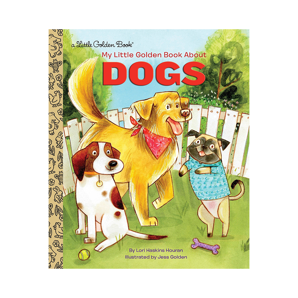 Little Golden Book About Dogs