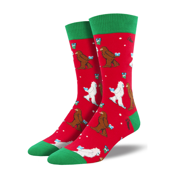 Socksmith Socks Mens Christmas Mythical Kissmas