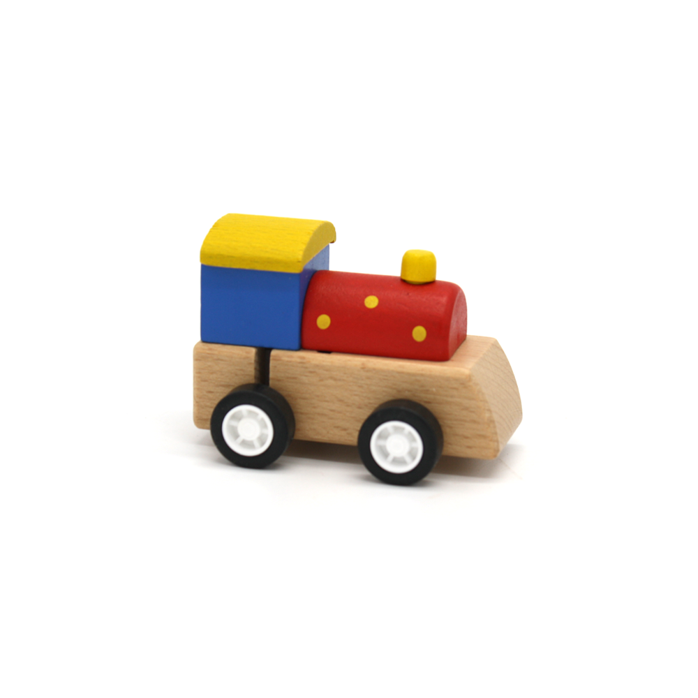 Wooden Wind Up Train
