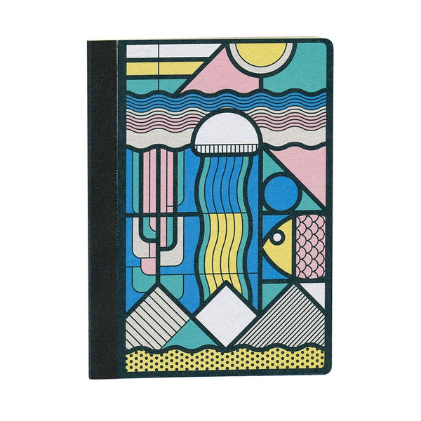 Papier Tigre Notebook Dot Grid A5 Soft Cover Medusa