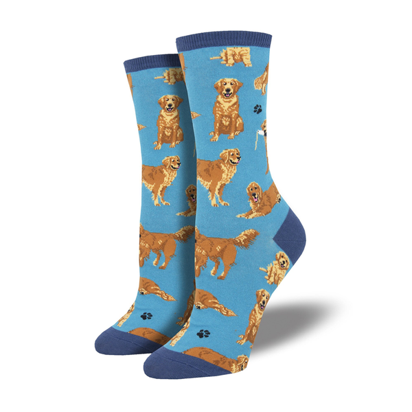 Socksmith Socks Womens Golden Retriever