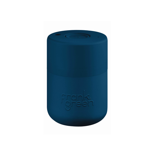 Frank Green Original Reusable Smart Cup 8oz Sailor Blue