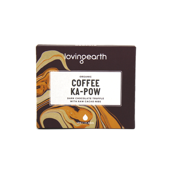 Loving Earth Chocolate 45g Coffee Ka Pow