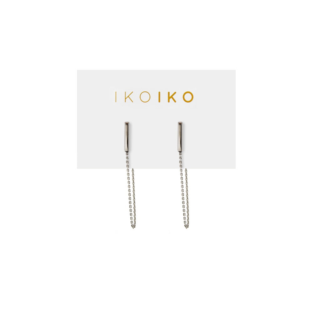 Iko Iko Studs Bar with Chain