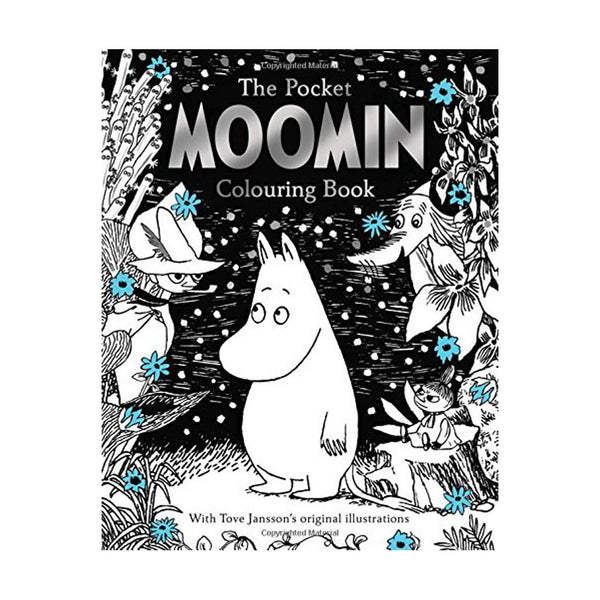 The Pocket Moomin Colouring Book