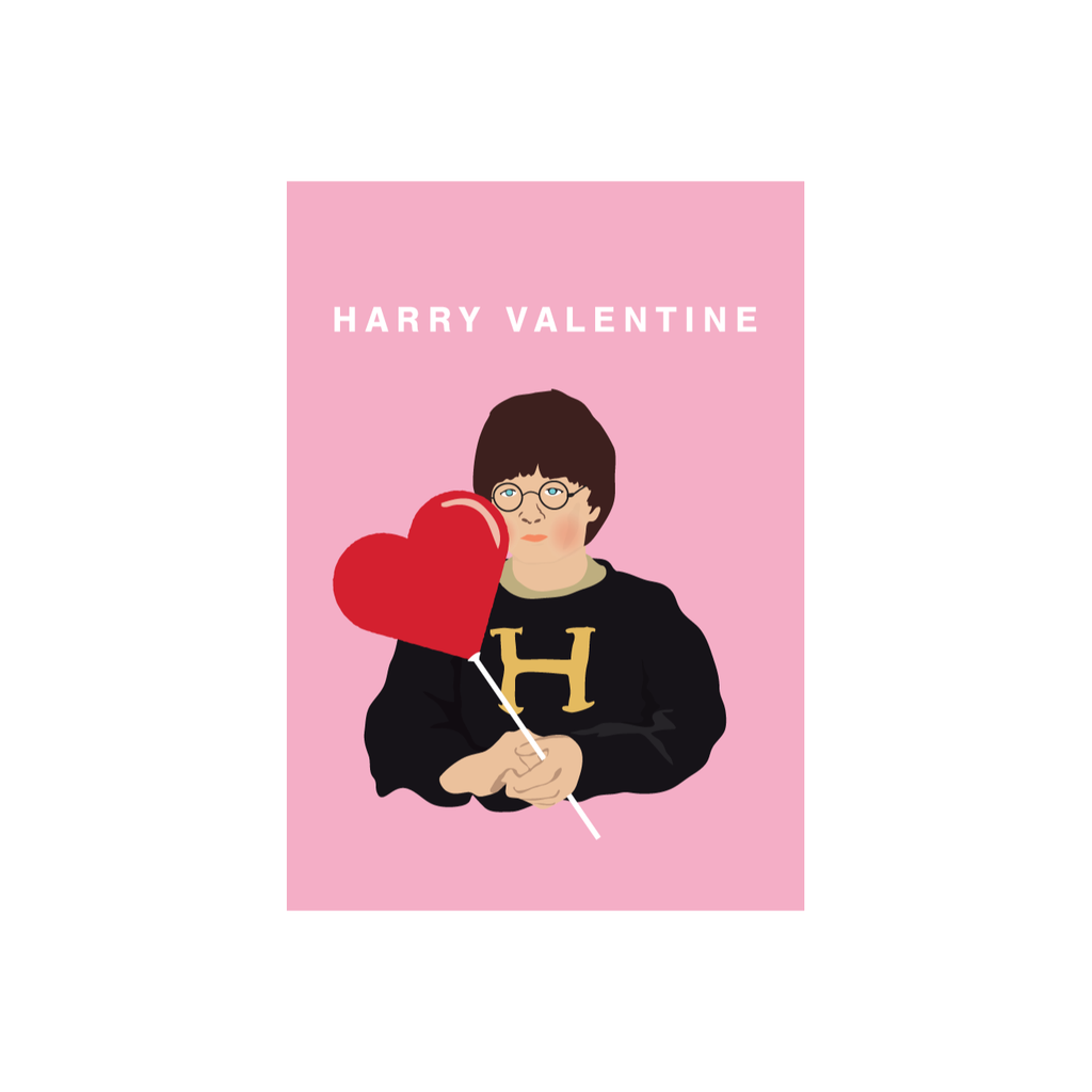 Iko Iko Pop Culture Card Harry Valentine