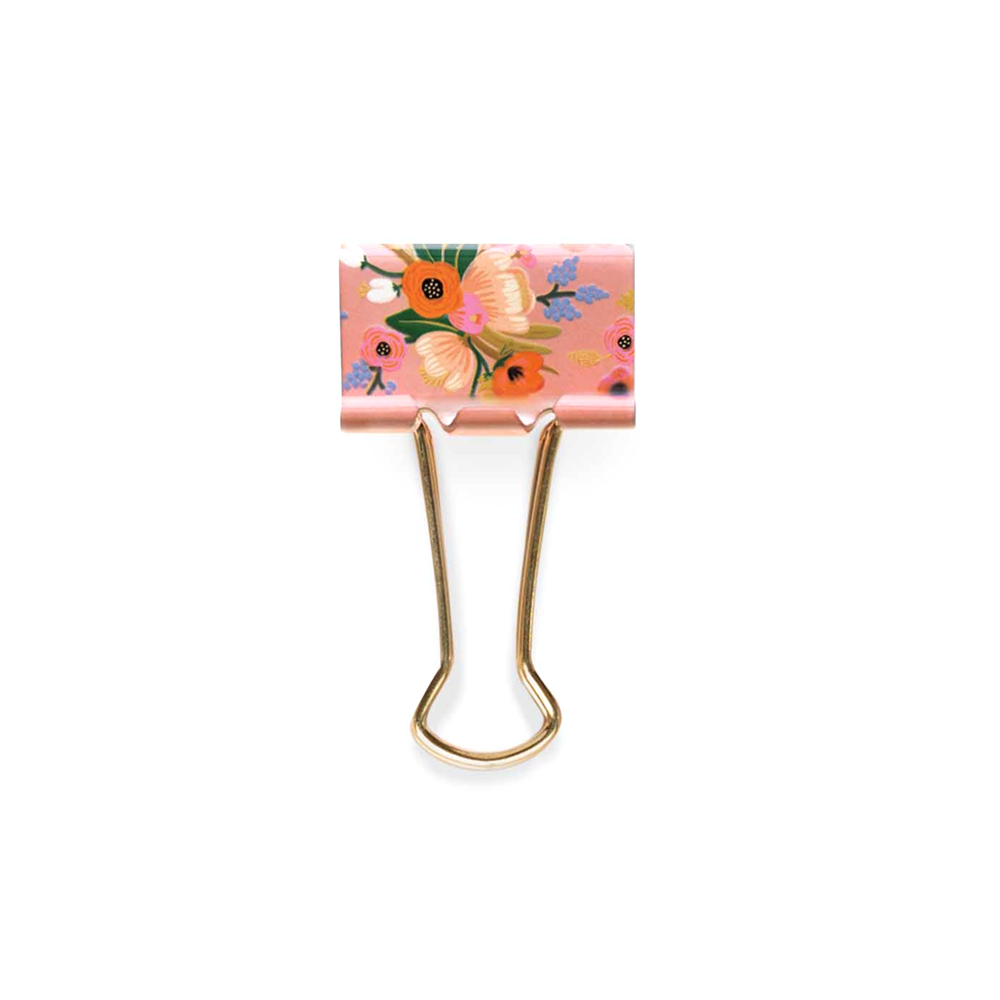 Rifle Paper Co Binder Clip Assorted