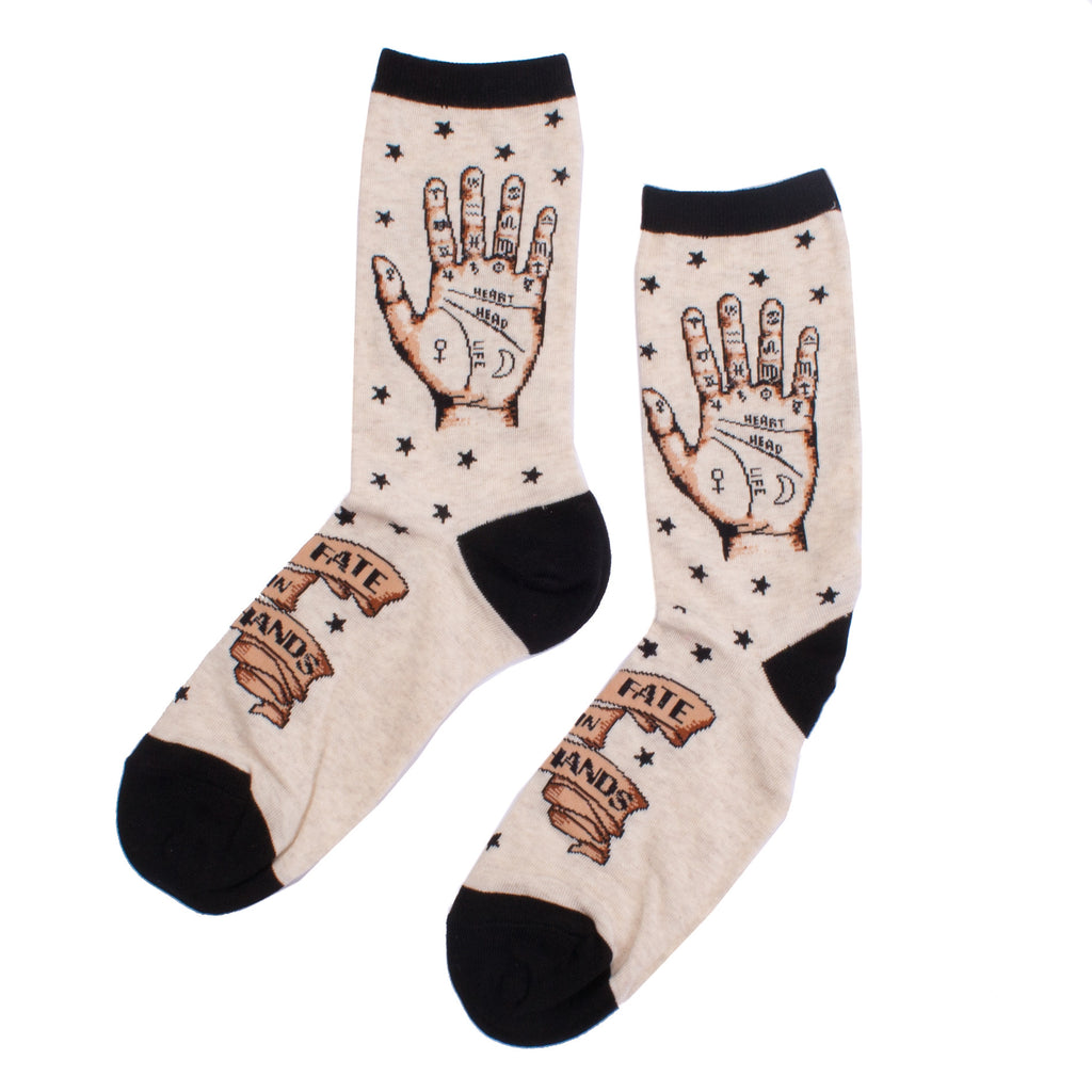 Socksmith Socks Womens Palmistry