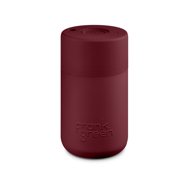 Frank Green Original Reusable Smart Cup 12oz Merlot