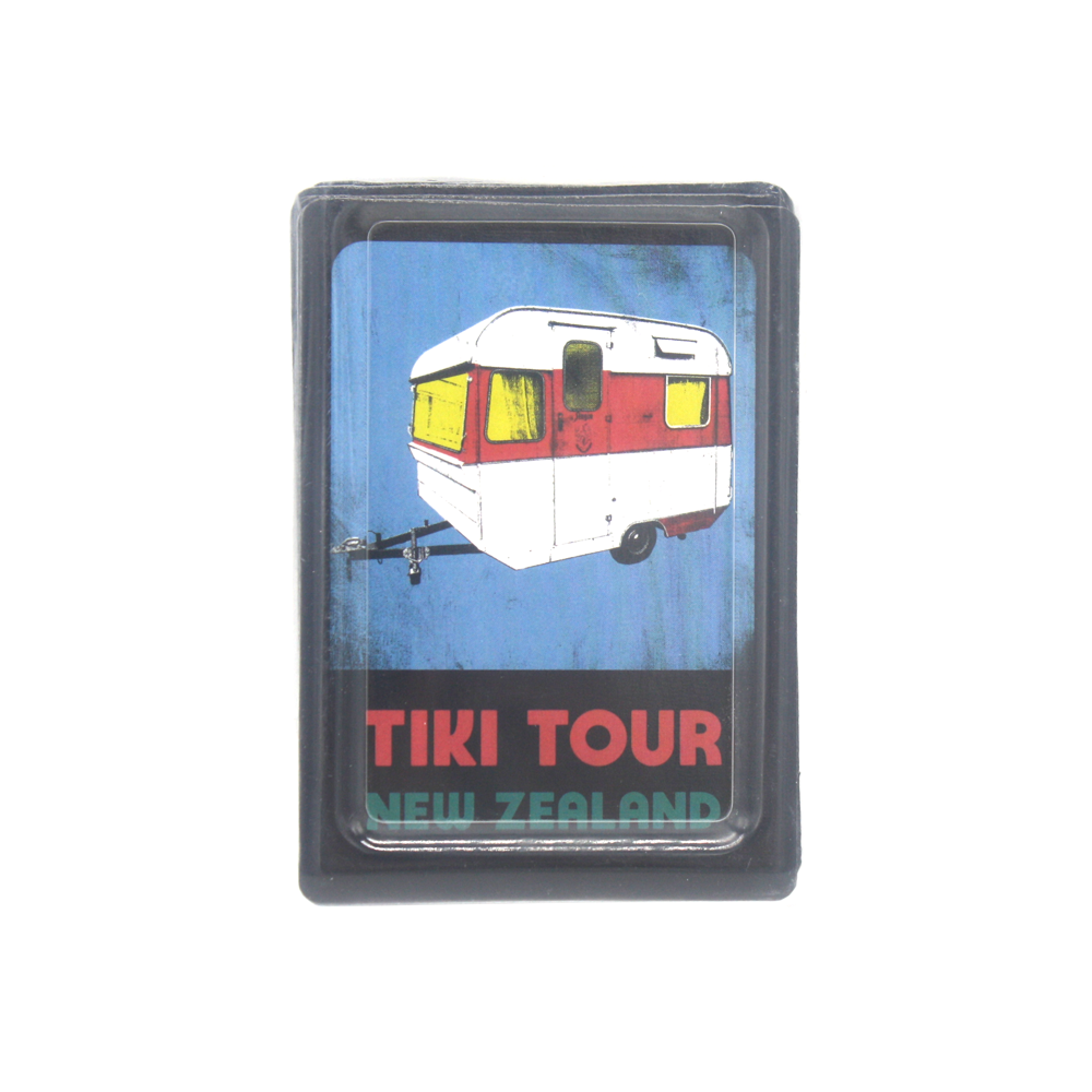 New Zealand Pop Art Playing Cards Tiki Tour