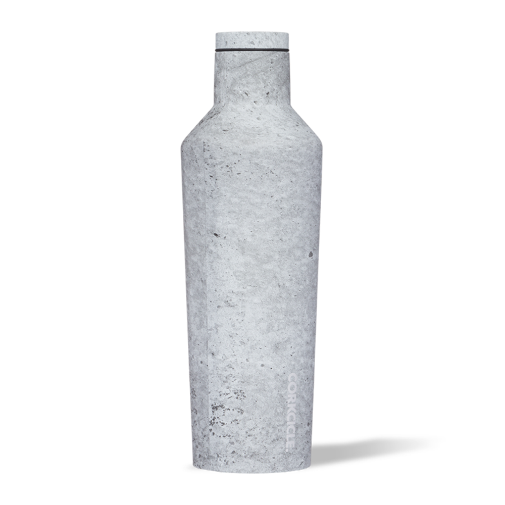Corkcicle Canteen Drink Bottle 16oz Concrete