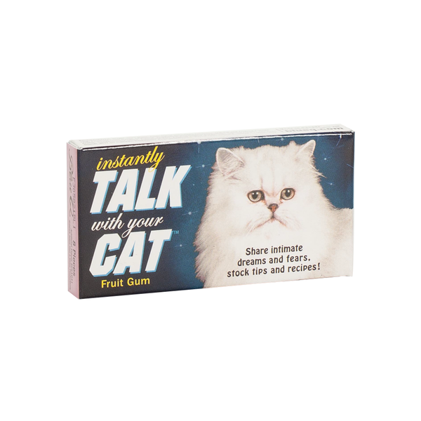 Blue Q Chewing Gum Talk with Your Cat