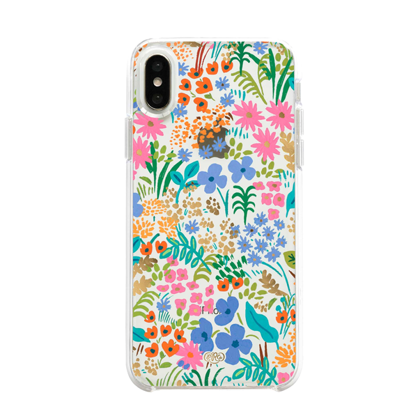 Rifle Paper Co iPhone X/XS Hard Case Clear Meadow