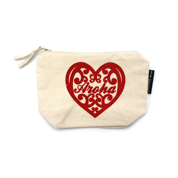 New Zealand Makeup Bag Aroha