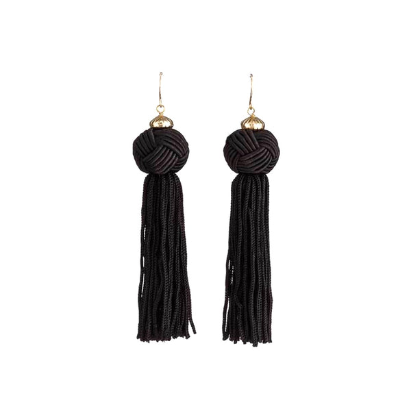 Stella + Gemma Earrings Emma Black