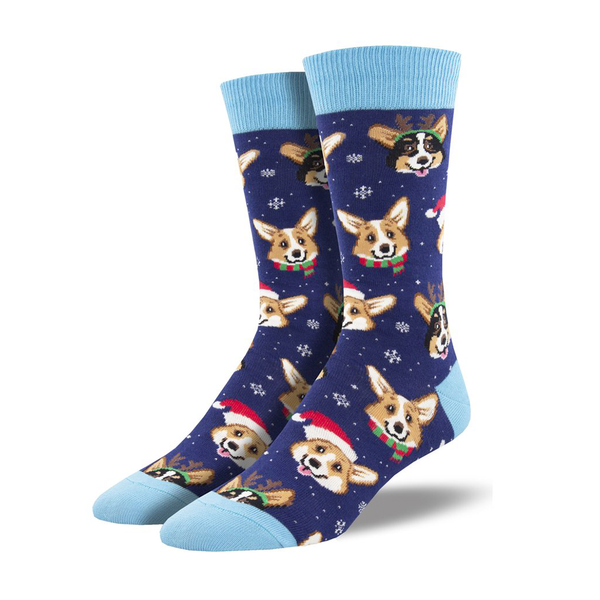 Socksmith Socks Mens Christmas Happy Pawlidays
