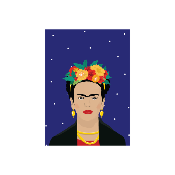 Iko Iko Christmas Card Holy Frida