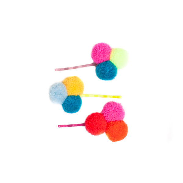 Meri Meri Sweet Thing Hair Pins Pom Poms